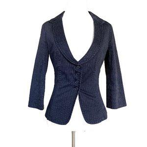 Benetton suit jacket size 2 woman's blazer